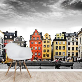 Stockholm Colourwash Wallpaper Wall Murals