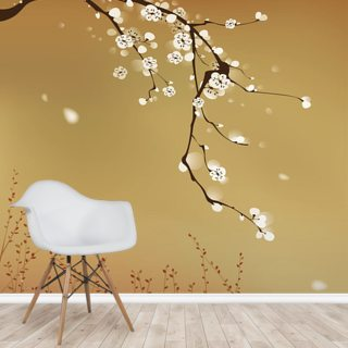 Plum Blossom Wallpaper Wall Murals