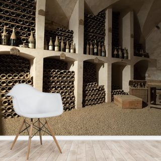 Castle Wine Cellar Wallpaper Wall Murals