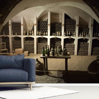 Grand Wine Cellar Wallpaper Wall Murals