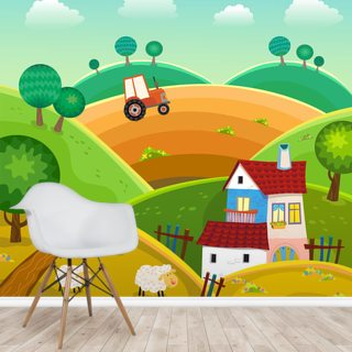 Farm and Tractor