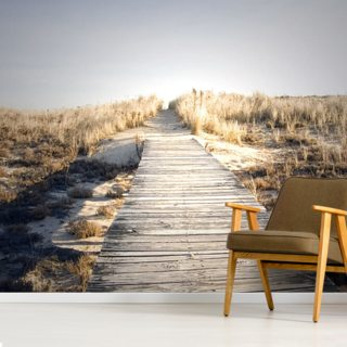 Boardwalk to Nowhere Wallpaper Wall Murals