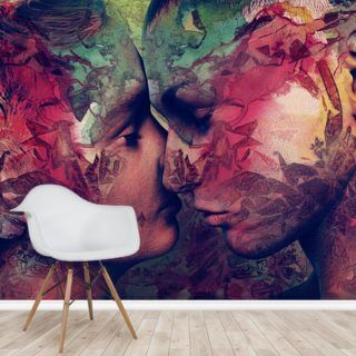 Graffiti Love 2 Wallpaper Wall Murals
