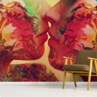 Graffiti Love 1 Wallpaper Wall Murals