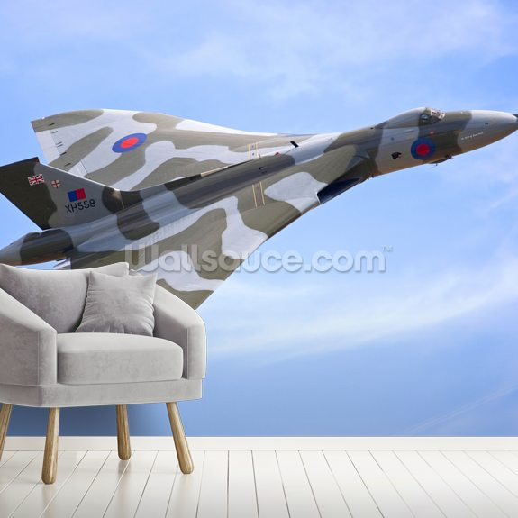 Avro Vulcan Bomber mural wallpaper room setting