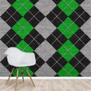 Argyle Wallpaper Wall Murals