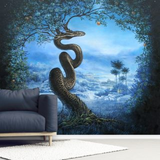 Tree of the Garden of Eden Wallpaper Wall Murals