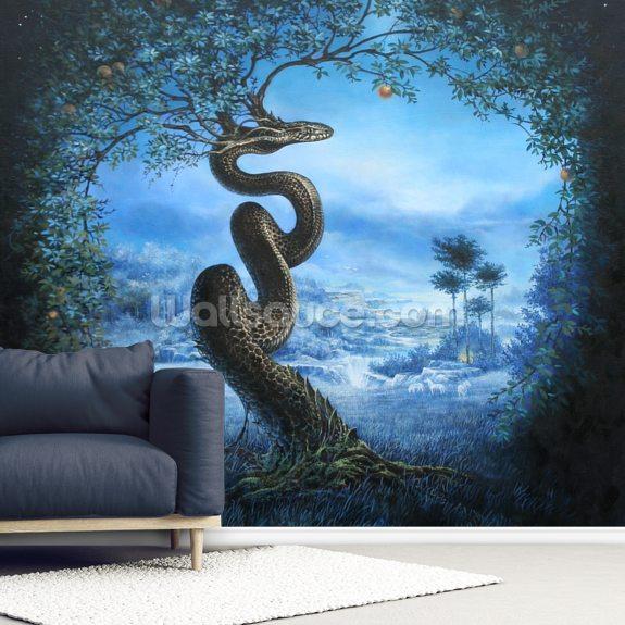 Garden Of Eden Landscape: Tree Of The Garden Of Eden Wall Mural