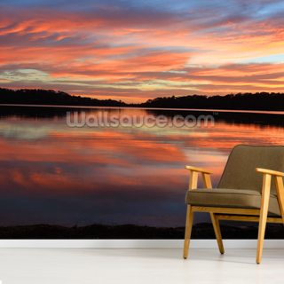 Sunrise Reflections Narrabeen Lakes