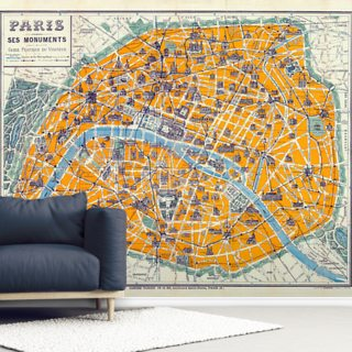 Map of Paris 1926
