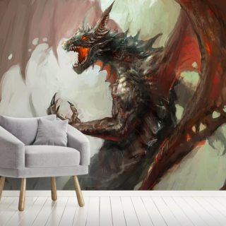 Dragon Rage Wallpaper Wall Murals