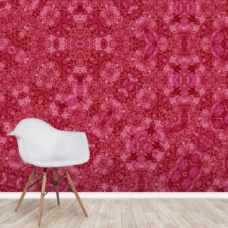 Center Of Mobius Red Wallpaper Wall Murals