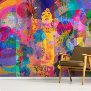 Crazy Rainbow Wallpaper Wall Murals