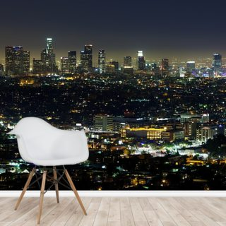 Downtown LA Wallpaper Wall Murals