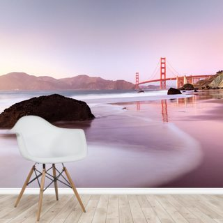 Harbour, San Francisco Wallpaper Wall Murals