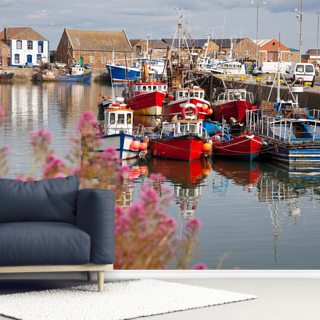 Howth Harbour Wallpaper Wall Murals