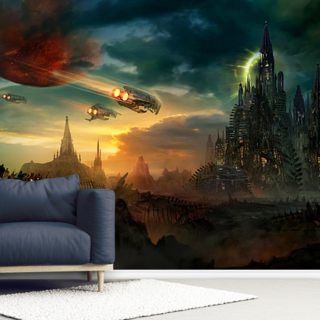 Sosheskaz Falls Wallpaper Wall Murals