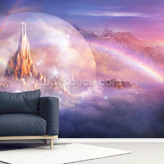 Unohla wall mural room setting