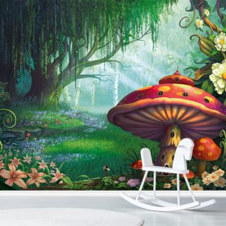 Enchanted Forest Wallpaper Wall Murals