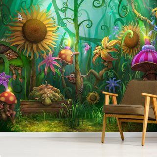 Meet the Imaginaries Wallpaper Wall Murals