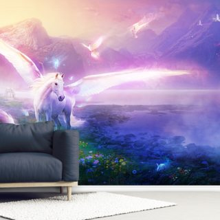 Winter Dawn Wallpaper Wall Murals