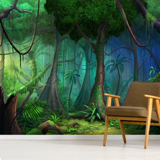 Rainforest Wallpaper Wall Murals