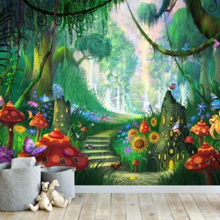Hidden Treasure Wallpaper Wall Murals