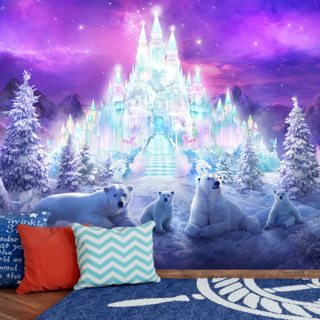 A Winter Wonderland Wallpaper Wall Murals