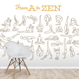 A to Zen Wallpaper Wall Murals