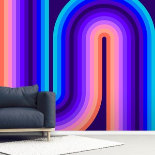 Cool Flow 1 Wallpaper Wall Murals