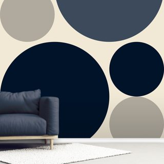 Mono Discs Wallpaper Wall Murals