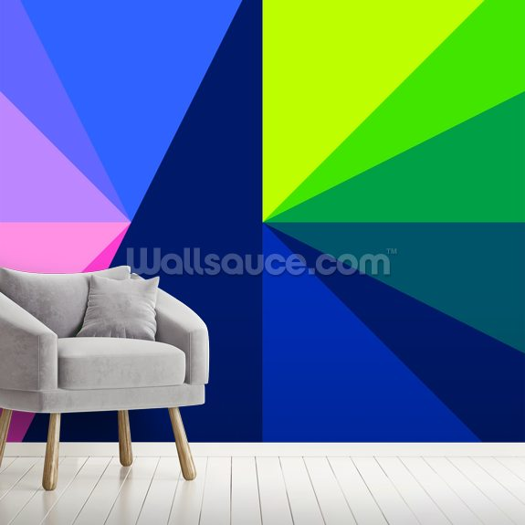 Structure Neon 1 wall mural room setting