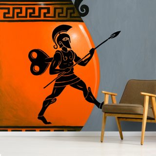Ancient Robots Wallpaper Wall Murals