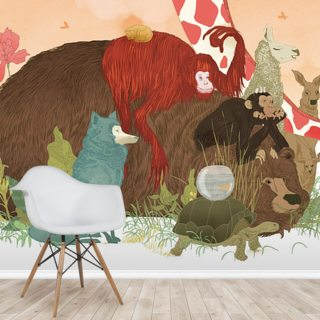 Animal talk Wallpaper Wall Murals