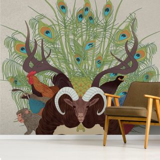 Fauna Wallpaper Wall Murals
