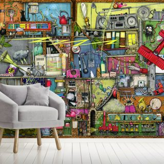 Too Loud Wallpaper Wall Murals