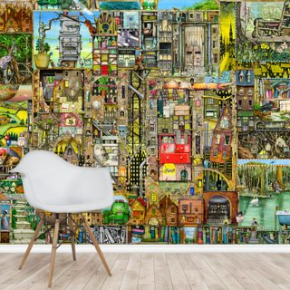 Our Town Wallpaper Wall Murals