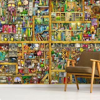 Vibrant Shelf Life Wallpaper Wall Murals