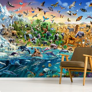 Endangered Species Wallpaper Wall Murals