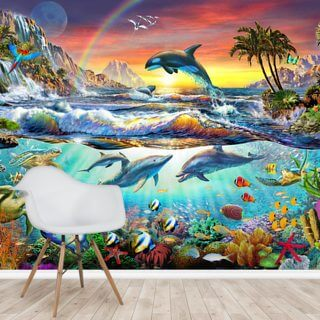 Paradise Cove Wallpaper Wall Murals