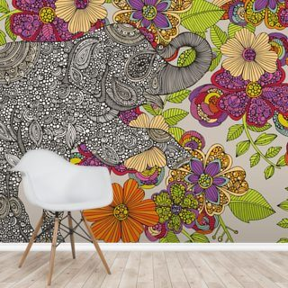 Elephant Puzzle Wallpaper Wall Murals