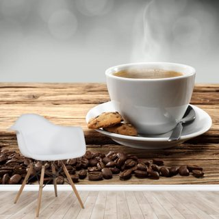 Hot Coffee Wallpaper Wall Murals