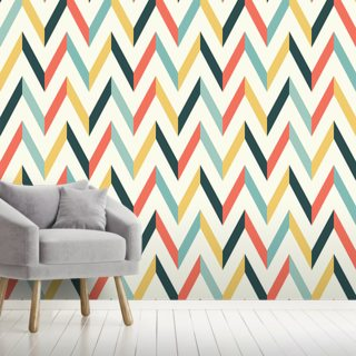 Retro Chevron Pattern