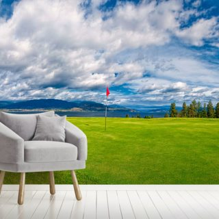 Golf Tee at Kelowna Lakeshore Road