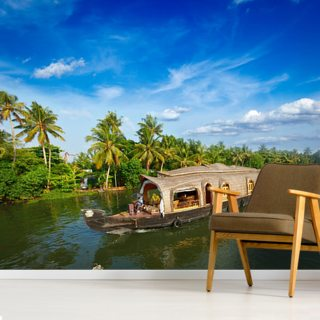 Kerala Backwaters Wallpaper Wall Murals