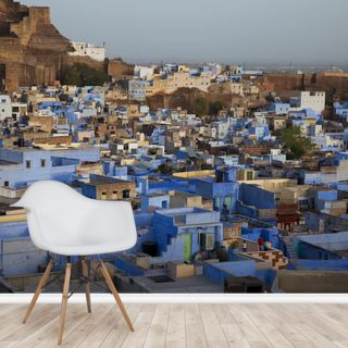 Blue Houses, Jodhpur Wallpaper Wall Murals