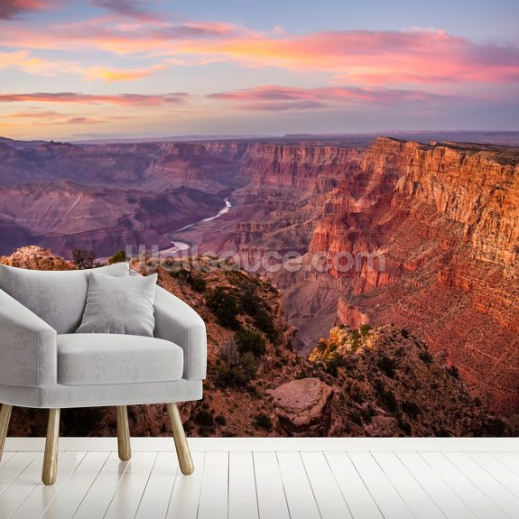 Grand Canyon View wall mural room setting