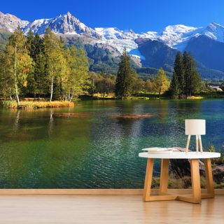 Snow Capped Mountains Wallpaper Wall Murals