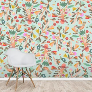 Birdsong Wallpaper Wall Murals