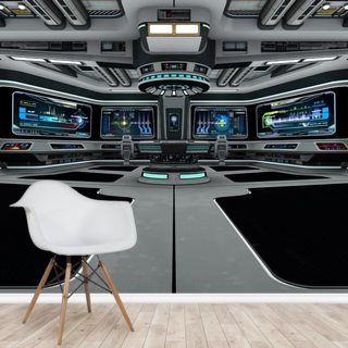 Spaceship Deck Wallpaper Wall Murals